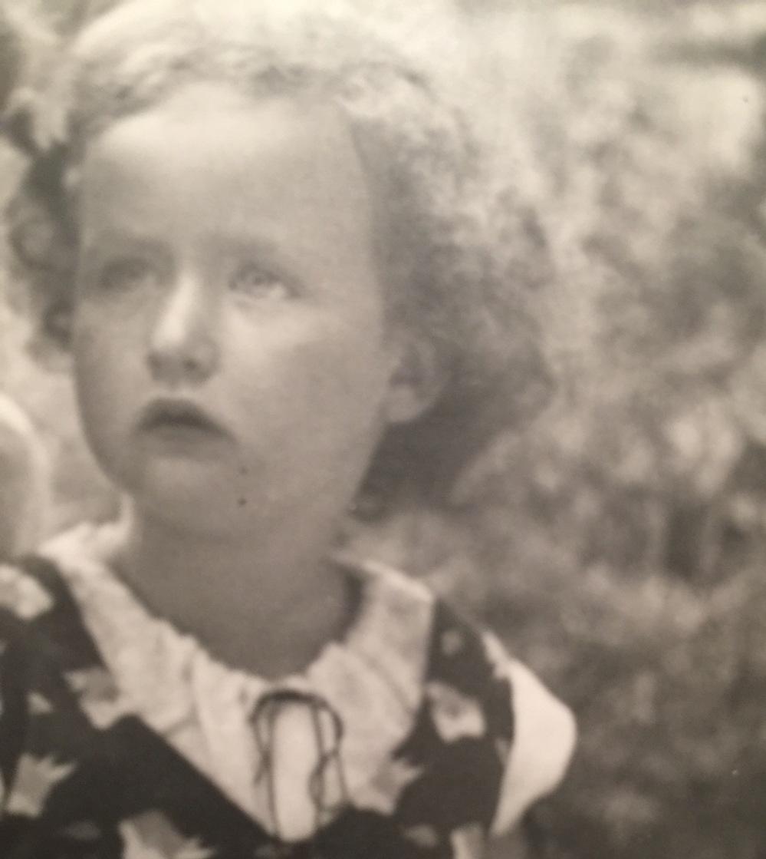 Rita Aged 5 - 1934